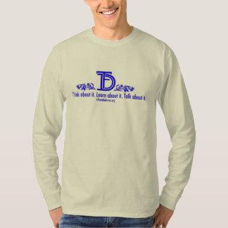 La blusa de manga larga de la nube camiseta
