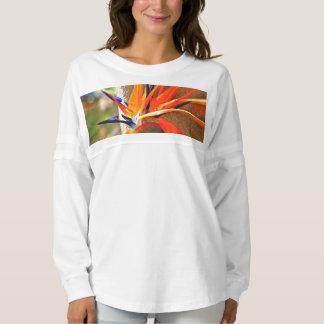 La blusa de manga larga de las mujeres de la ave camiseta spirit