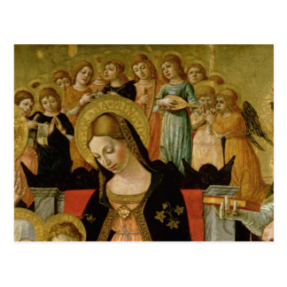 La boda del santo Catherine de Siena Postal