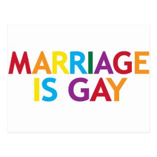 la boda es gay postales