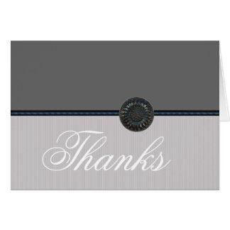 La bodas de plata le agradece las notas tarjeta de felicitación
