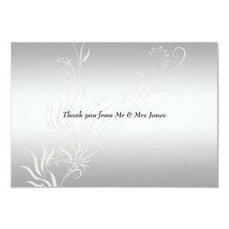 La bodas de plata popular le agradece invitación 8,9 x 12,7 cm