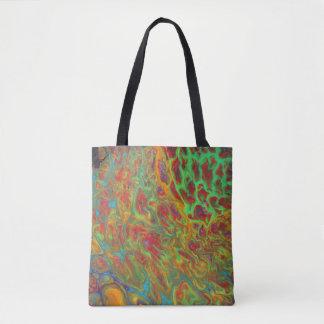 La bolsa de asas abstracta del arco iris