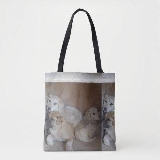 La bolsa de asas afgana de los perritos