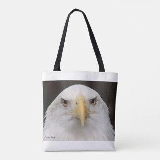 La bolsa de asas americana de Eagle calvo