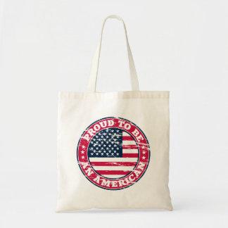 La bolsa de asas americana orgullosa