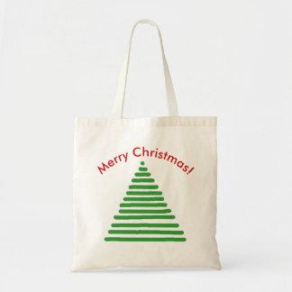 La bolsa de asas - árbol de navidad