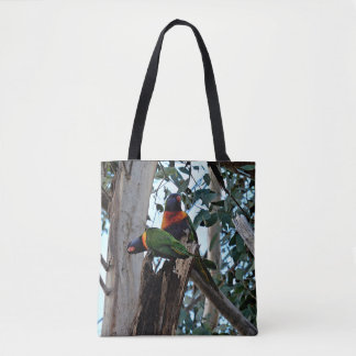 La bolsa de asas - arco iris Lorikeets