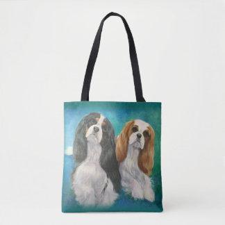 La bolsa de asas arrogante del perro de aguas de