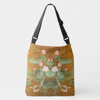 La bolsa de asas asiática de la charca de los