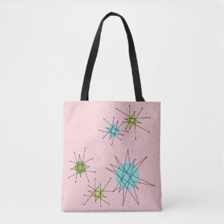 La bolsa de asas atómica icónica rosada de
