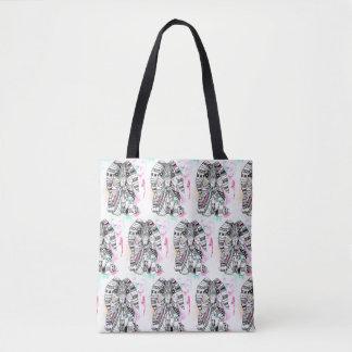 La bolsa de asas azteca del conejito
