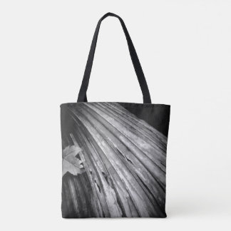 La bolsa de asas blanco y negro de Reuseable