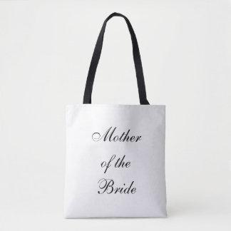 La bolsa de asas, boda, madre de la novia