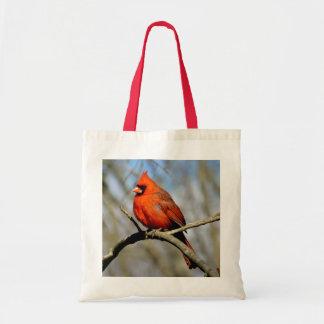 La bolsa de asas cardinal del perfil de Ohio