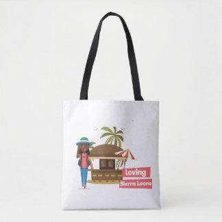 La bolsa de asas cariñosa del Sierra Leone