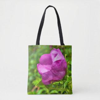 La bolsa de asas color de rosa de Alaska salvaje