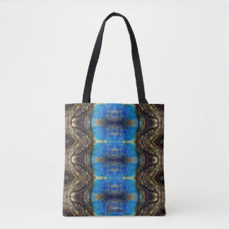 La bolsa de asas colorida de Camo de la corteza