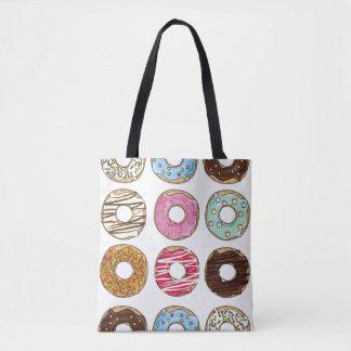 La bolsa de asas colorida deliciosa de los dulces