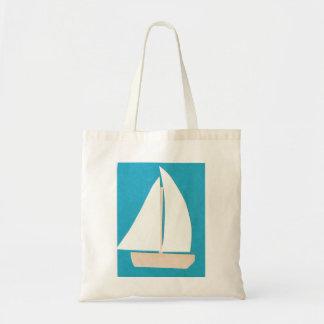 La bolsa de asas con diseño del velero