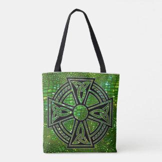 La bolsa de asas con la cruz céltica