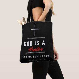 La bolsa de asas cristiana del negro, dioses es un