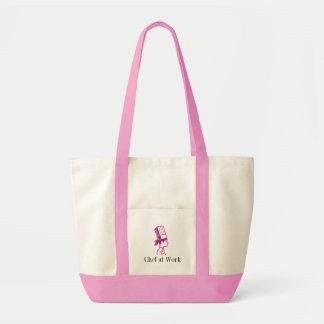 La bolsa de asas culinaria personalizada de las