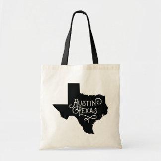 La bolsa de asas de Austin Tejas del estilo del