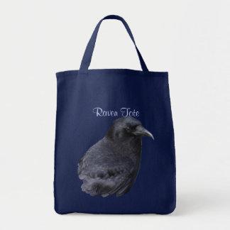La bolsa de asas de Birdlover del cuervo