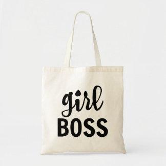 """La bolsa de asas de Boss del chica"""