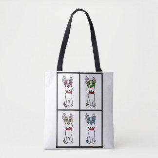 La bolsa de asas de Boston Terrier