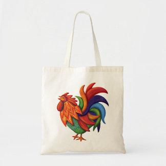 La bolsa de asas de De Colores Rooster Gallo