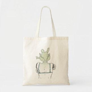 La bolsa de asas de //de la mujer del cactus