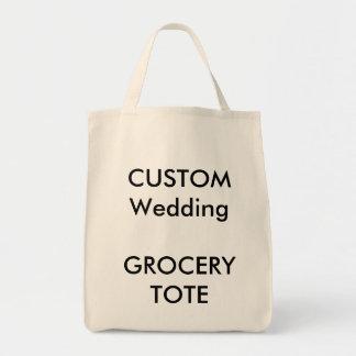 La bolsa de asas de encargo de las compras (color