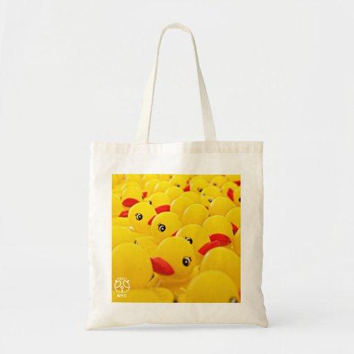La bolsa de asas de goma de Duckie