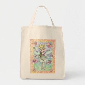 La bolsa de asas de hadas de princesa Grocery por