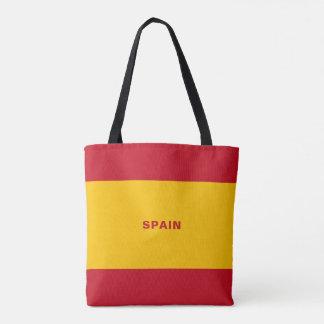 La bolsa de asas de la bandera de España
