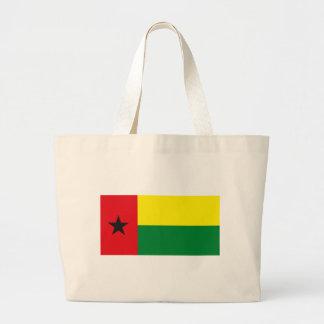 La bolsa de asas de la bandera de Guinea-Bissau