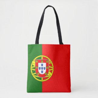 La bolsa de asas de la bandera de Portugal