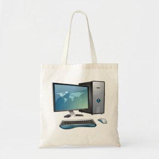 La bolsa de asas de la computadora de escritorio