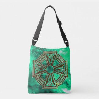 La bolsa de asas de la cruz céltica