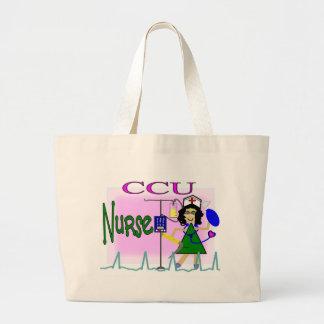 la bolsa de asas de la enfermera de la CCU