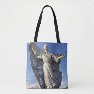 La bolsa de asas de la estatua de la mujer del