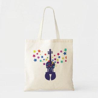 La bolsa de asas de la estrella del violín