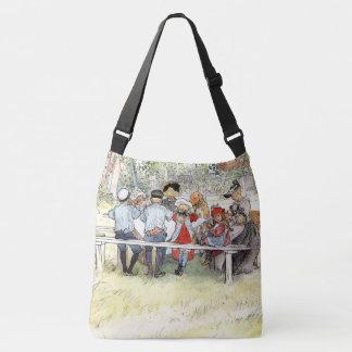 La bolsa de asas de la familia del árbol de abedul