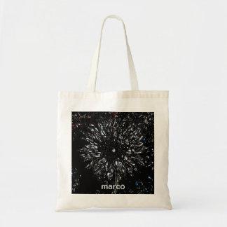la bolsa de asas de la flor del tiro del starburst