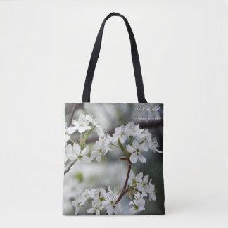 La bolsa de asas de la floración de la primavera