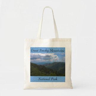 La bolsa de asas de la foto del parque nacional de