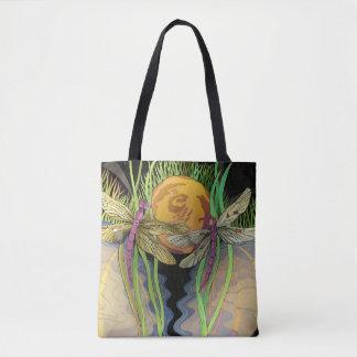 La bolsa de asas de la gente de la libélula