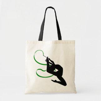 La bolsa de asas de la gimnasia rítmica